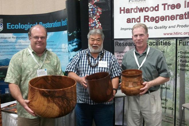 Hawaiian Hardwood turned bowls