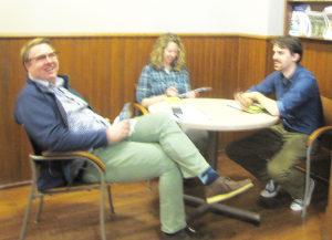 Image of Matt, Liz, and Brady