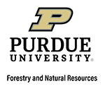 Purdue University FNR co-brand logo
